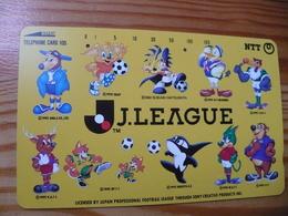 Phonecard Japan 331-224 Footbal - Japon