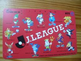 Phonecard Japan 111-044 Football - Japon