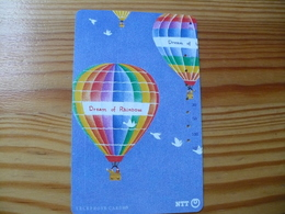 Phonecard Japan 231-362 Balloon - Japon