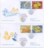 SAN MARINO - FDC VENETIA  2005 - LE MONETE - VIAGGIATE - FDC