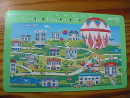 Phonecard Japan 331-275 Balloon - Japon