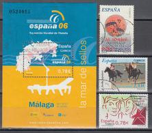 2006 Edifil Nº 4240, 4241, 4249, 4253, - 1931-Today: 2nd Rep - ... Juan Carlos I