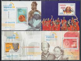 2006 Edifil Nº 4267, 4268, 4273, 4274, - 1931-Today: 2nd Rep - ... Juan Carlos I