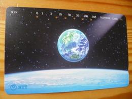 Phonecard Japan 231-418 Space - Japon