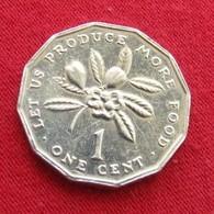 Jamaica 1 Cent 1996 FAO  F.a.o.  Jamaique Jamaika UNCºº - Jamaica