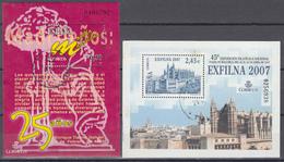 2007 Edifil Nº 4320, 4321, - 1931-Today: 2nd Rep - ... Juan Carlos I