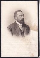 BRUXELLES Comte Albert De THEUX De MEYLANDT 1853-1915 Ancien Député Souvenir Mortuaire En 2 Volets - Décès