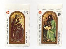 S.M.O.M. - 1989 - San Giovanni Battista - 2 Valori Con Bordo Di Foglio - Nuovi - Vedi Foto - (FDC13814) - Malte (Ordre De)