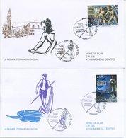 SAN MARINO - FDC VENETIA  2005 - REGATA STORICA DI VENEZIA - VIAGGIATE - FDC