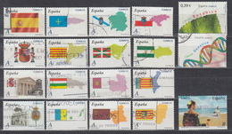 2009 - 2010 LOTE DE SELLOS USADOS, - 1931-Today: 2nd Rep - ... Juan Carlos I
