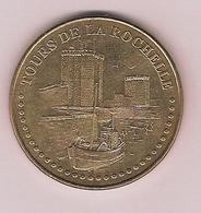 - 17 - La Rochelle - Tours De La Rochelle N°2 Face Simple  2013 - Monnaie De Paris