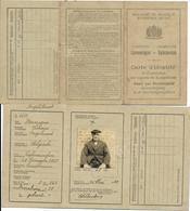 Galmaerden - Gammerages ( Carte D'identité De Vannegem Livinus ) 1930 - Cartes