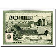 Billet, Autriche, Bodendorf O.Ö. Gemeinde, 20 Heller, Texte 1, 1920 - Autriche