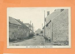 CPA  -  Etavigny -(Oise) - La Route De Betz - Frankreich