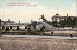St PETESBOURG - Monument De Pierre Le Grand - Russie