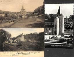 Celles - Petit Lot Sympa 3 Cartes (Eglise) - Houyet