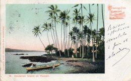 COCOANUT  ISLAND ON HAWAII ( Voir Timbre) - Honolulu