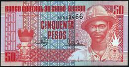 GUINEA BISSAU - 50 Pesos 01.03.1990 UNC P.10 - Guinee-Bissau