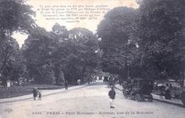 75 - PARIS 08 -  Parc Monceau - Avenue De La Rotonde - Arrondissement: 08
