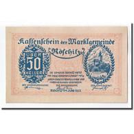 Billet, Autriche, Röschitz N.Ö. Marktgemeinde, 50 Heller, Texte 2, 1920, SPL - Autriche