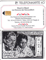 GERMANY - Takeda Pharma GmbH(O 007 B), Tirage 1000, 01/92, Mint - O-Series : Séries Client