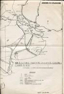 MAPAS FORTINES DEL DESIERTO ZONA DE OPERACIONES EN LA EPOCA COLONIAL Y CAMPAÑA 1833  ZTU. - Monde