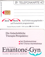 GERMANY - Takeda Pharma/Enantone-Gyn(O 006 B), Tirage 1000, 01/92, Mint - O-Series : Séries Client