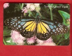 SINGAPORE  GPT Card - Papillons
