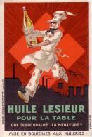 HENRI LE MONNIER   -  Publicité Huile Lesieur  -  CPA  9x14  TBE 1924  Neuve Pas Une Reproduction - Publicité