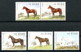 Ireland, 1981, Horses, Animals, Fauna, MNH, Michel 449-453 - Irlande