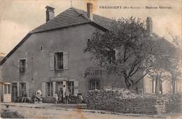 52  - CPA PRESSIGNY Maison Olivier   RARE - France