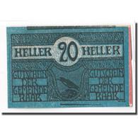 Billet, Autriche, Raab O.Ö. Marktgemeinde, 20 Heller, Texte 1, 1920 - Autriche