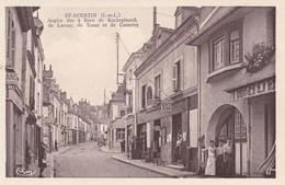 Saint Avertin, Angles Des 4 Rues De Rochepinard De Lacray, De Tours Et De Corméry (pk54208) - Saint-Avertin