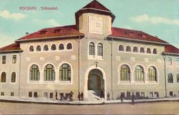 ALTE  AK   FOCSANI / Rumänien  -  Tribunalul  -  1912 Gedruckt - Romania
