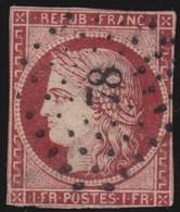 France   .   Yvert    .    6     ( 2 Scans )       .      O      .     Oblitéré - 1849-1850 Cérès