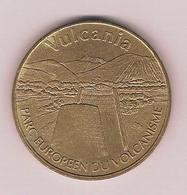 - 63 - Saint-Ours Les Roches - Vulcania N°2 Le Cône Et La Chaine Des Puys  2003 B Cote 15 € - Monnaie De Paris