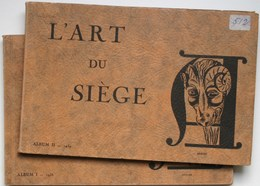Mobilier - Ameublement : L'ART Du SIEGE  (2 Albums-catalogues) 1938-1939 - TB / Fauteuil Canapé Chaise ** 4 Scans **/B79 - Art