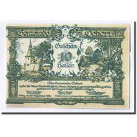 Billet, Autriche, Ockert N.Ö. Gemeinde, 10 Heller, N.D, 1920, SPL, Mehl:702a - Autriche