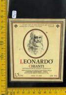 Etichetta Vino Liquore Chianti Leonardo - Etichette