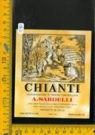 Etichetta Vino Liquore Chianti A. Sardelli Poggibonsi - Etichette