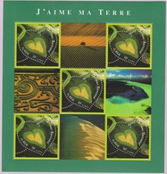 N° Yvert & Tellier 43 (Blocs Et Feuillets) - Cœurs 2002 Du Photographe Yann Arthus-Bertrand (1) - Blocks & Kleinbögen