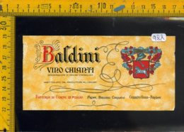 Etichetta Vino Liquore Chianti Baldini Cerreto Guidi Firenze - Etichette