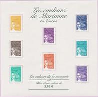 N° Yvert & Tellier 44 (Blocs Et Feuillets) - Les Couleurs De Marianne En Euros (1) - Blocks & Kleinbögen