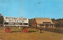 Boothbay Railway Museum - Etats-Unis