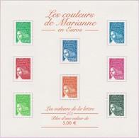 N° Yvert & Tellier 45 (Blocs Et Feuillets) - Les Couleurs De Marianne En Euros (1) - Blocks & Kleinbögen