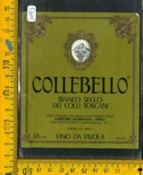 Etichetta Vino Liquore Collebello Vinci - Etiquetas