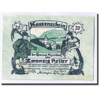 Billet, Autriche, Payerbach, 20 Heller, Paysage, 1920, SPL, Mehl:FS 725 - Autriche
