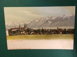 Cartolina Lausanne Et Les Alpes - 1930 - Cartoline