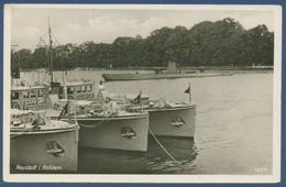 Neustadt In Holstein Marinehafen Unterseeboot, Ungebraucht (AK1525) - Neustadt (Holstein)