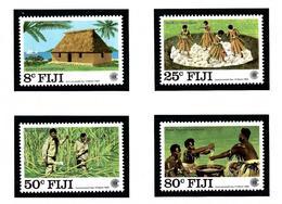 Fiji 485-88 MNH 1983 Commonwealth Day - Fiji (1970-...)